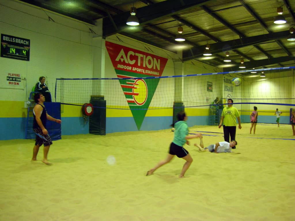 Action Indoor Sports Beach Volleyball