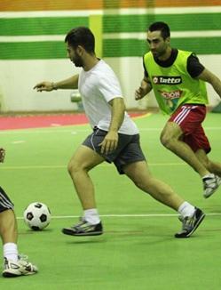 Indoor Futsal Players